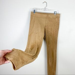 women's small suede leggings pants soho New York